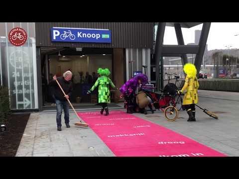 """Bicycle parking garage """"Knoop"""", Utrecht (Netherlands)"""