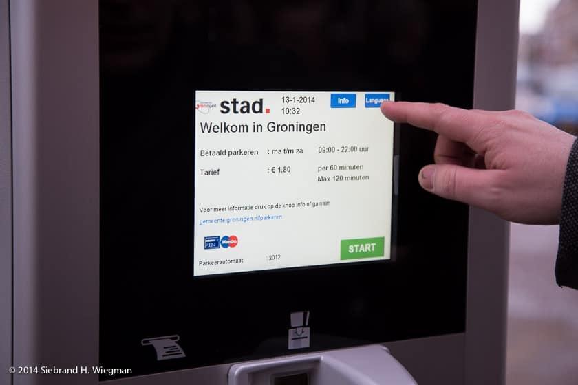 Parking in Holland is digital